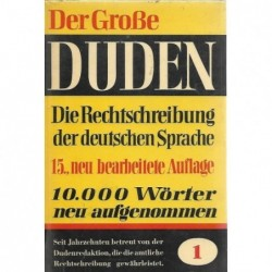 Der grosse Duden-Band 1